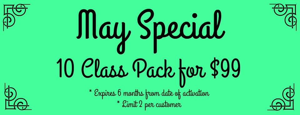 May Special - slider