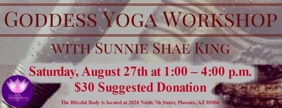 Goddess Yoga Workshop - slider