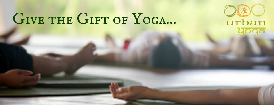 Give the gift of yoga with gift cards